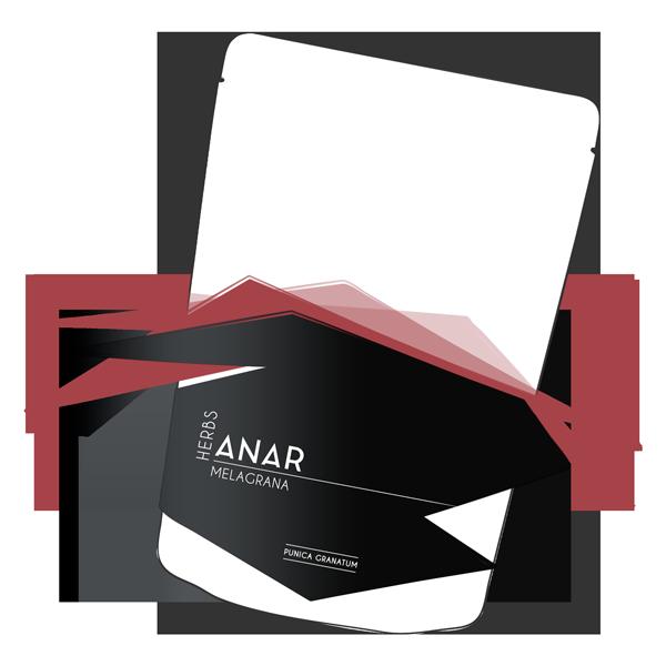 Adevy Cosmetics Anar Pouch